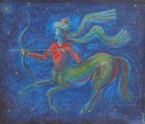 The Archer 120х100 cm, oil/canvas 2006