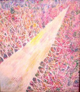 Тропинки жизни 56 x 65 cm, oil / canvas, 2001