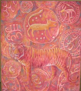 Sovereigns of old Chah 90х102 cm, oil / canvas , 2008